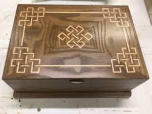 March 12, 2020 – Box making and the three part finish by John Kennedy