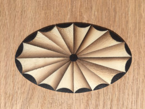Making a Federal Period Oval Fan Inlay